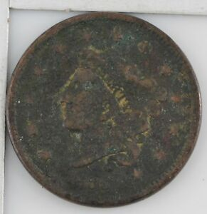 1836 MATRON HEAD LARGE CENT