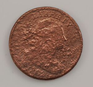 1802 DRAPED BUST LARGE CENT  G61