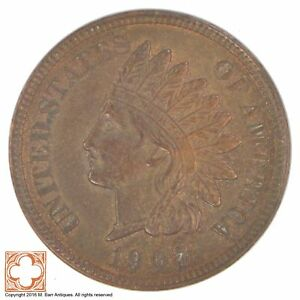1907 INDIAN HEAD CENT  YB34