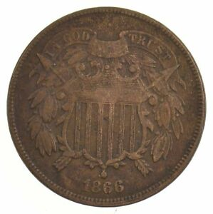 1866 TWO CENT PIECE  J02
