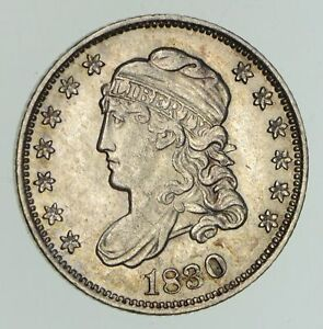 1830 CAPPED BUST HALF DIME   NEAR UNCIRCULATED  4735