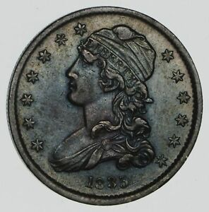 1835 CAPPED BUST QUARTER  NEAR UNCIRCULATED  2364