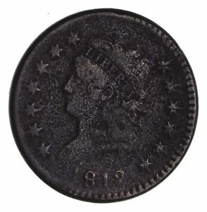 1812 CLASSIC HEAD LARGE CENT   CIRCULATED  1463