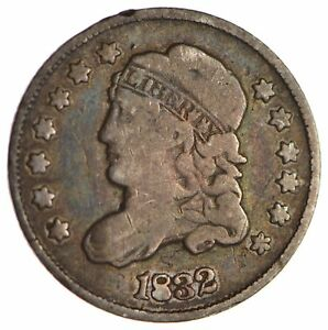 1832 CAPPED BUST HALF DIME   CIRCULATED  1706