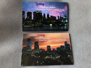 2008 PD US MINT UNCIRCULATED COIN SET