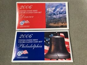 2006 PD US MINT UNCIRCULATED COIN SET