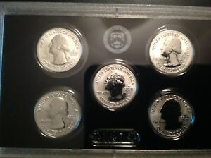 6 EA 2018S SILVER REVERSE PROOF QUARTERS SET NOW SHIPPING   PLEASE READ