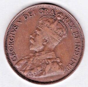 1916  CANADA  LARGE CENT. YOU GRADE IT .