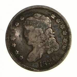 1831 CAPPED BUST HALF DIME   CIRCULATED  6925