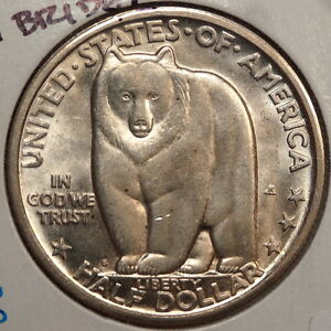 1936 S BAY BRIDGE COMMEMORATIVE HALF DOLLAR CHOICE UNCIRCULATED   1012 100