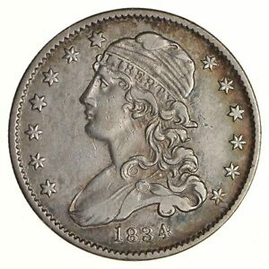 1834 CAPPED BUST QUARTER   CIRCULATED  6844