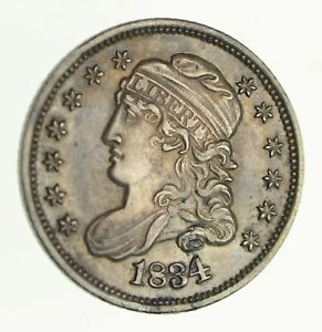 1834 CAPPED BUST HALF DIME   NEAR UNCIRCULATED  4120