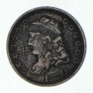 1830 CAPPED BUST HALF DIME   CIRCULATED  1333
