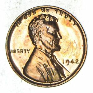 1942 LINCOLN WHEAT CENT   PROOF  8910