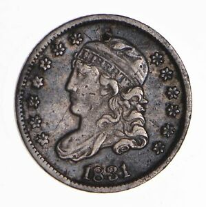 1831 CAPPED BUST HALF DIME   CIRCULATED  8450