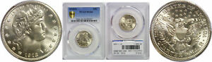 Click now to see the BUY IT NOW Price! 1913 S BARBER QUARTER PCGS MS 66