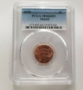 Click now to see the BUY IT NOW Price! 2018P PCGS MS66RD SHIELD