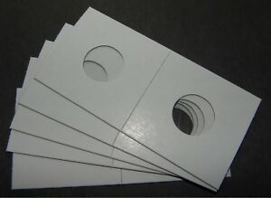 5 CANADIAN 1 & 10 CENT CARDBOARD COIN HOLDERS 20MM