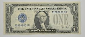 1928 B $1.00 BLUE SEAL SILVER CERTIFICATE CURRENCY   FR. 1602  5927