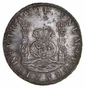 1739 MEXICO 8 REALES   CIRCULATED  8596