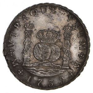 1739 MEXICO 8 REALES   CIRCULATED  8597