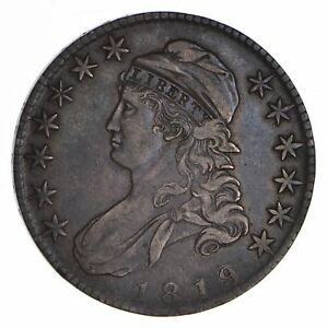 1819 CAPPED BUST HALF DOLLAR   CIRCULATED  9026
