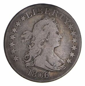 1806 DRAPED BUST QUARTER   CIRCULATED  9733