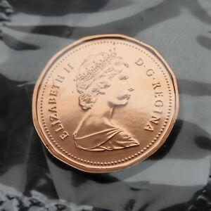 CANADA   SMALL CENT 1987   PROOF LIKE   MS    C684