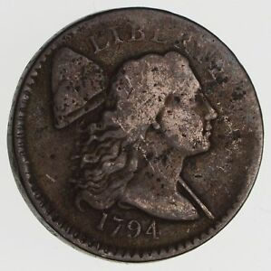 1794 LIBERTY CAP LARGE CENT   CIRCULATED  2431
