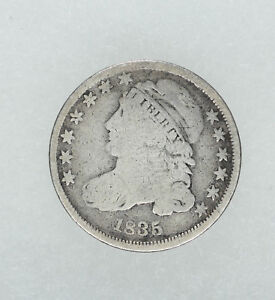 1835 CAPPED BUST DIME 10C G  GOOD  8278