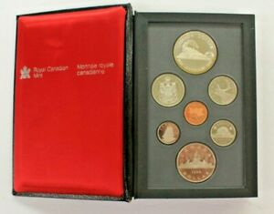 CANADA DOUBLE DOLLAR PROOF SET ROYAL CANADIAN MINT 1986