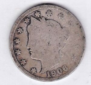 1906 LIBERTY NICKEL IN GOOD  CONDITION   STK K407