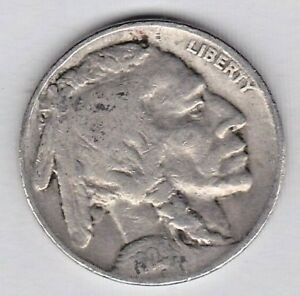 1929 BUFFALO NICKEL IN FINE CONDITION STK B 01