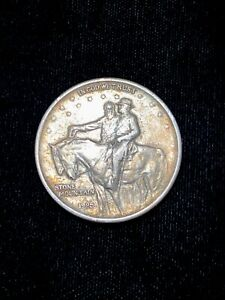 1925 STONE MOUNTAIN HALF DOLLAR MEMORIAL 2 THE VALOR OF THE SOLDIER OF THE SOUTH