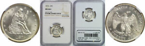 Click now to see the BUY IT NOW Price! 1876 TWENTY CENT PIECE NGC MS 66
