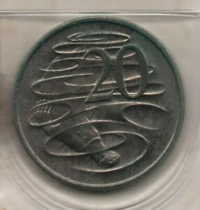 1978 AUSTRALIA: PLATYPUS 20 CENT COIN FROM MINT SET FREE POSTAGE