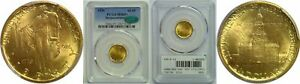 Click now to see the BUY IT NOW Price! 1926 SESQUICENTENNIAL $2 1/2 GOLD COMMEMORATIVE PCGS MS 65  CAC