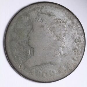 1809 CLASSIC HEAD LARGE CENT CHOICE  E106 RHT