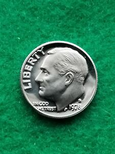 1978 S   ROOSEVELT DIME  CAMEO  UNCIRCULATED  PROOF   FREE SHIP