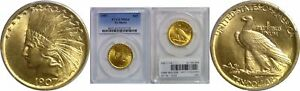 Click now to see the BUY IT NOW Price! 1907 $10 GOLD COIN PCGS MS 64 NO MOTTO