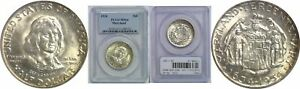 1934 MARYLAND SILVER COMMEMORATIVE PCGS MS 64