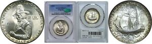 Click now to see the BUY IT NOW Price! 1921 PILGRIM SILVER COMMEMORATIVE PCGS MS 67  CAC