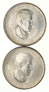 LOT  2  1936 S & D CINCINNATI COMMEMORATIVE HALF DOLLARS  2745