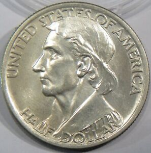 1936 BOONE SILVER HALF DOLLAR SUPERB QUALITY GEM UNCIRCULATED  04143602BH