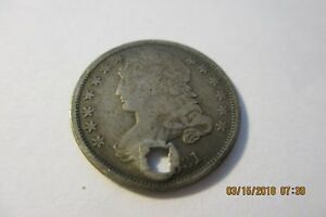 1831 CAPPED BUST DIME    DAMAGE