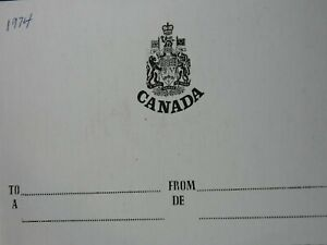 1974 CANADA PROOF SET ROYAL CANADIAN MINT LEATHER CASE & BOX W/COA PA148