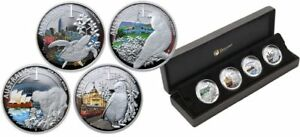 Click now to see the BUY IT NOW Price! 2010 PERTH MINT CELEBRATE AUSTRALIA 4 SILVER COIN SET