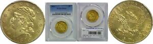 Click now to see the BUY IT NOW Price! 1813 $5 GOLD COIN PCGS MS 63