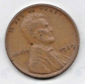 1929 LINCOLN CENT IN FINE CONDITION STK 1G