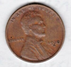 1930 S  LINCOLN CENT IN FINE CONDITION STK 1B